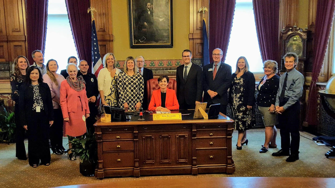 Governor Signs HF731 And Anti-Trafficking Updates From Across Iowa
