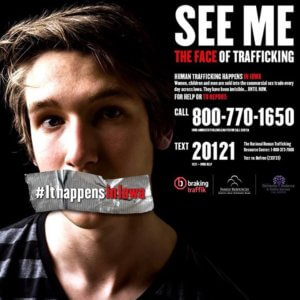 """See Me"" anti-human trafficking poster"