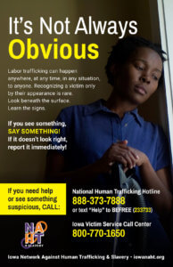 Labor Trafficking Poster