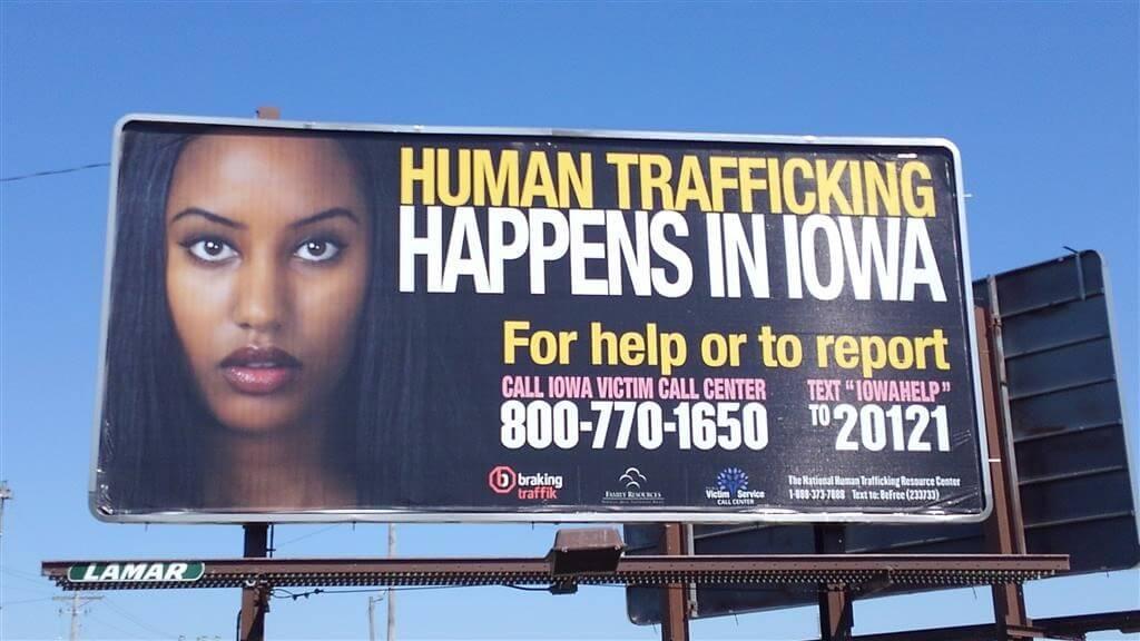 Human Trafficking Happens in Iowa
