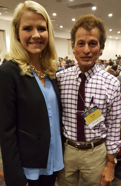 Dr. George Belitsos and Elizabeth Smart