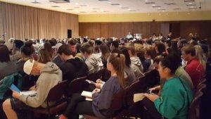 Nicholas Kristof Lecture about human trafficking