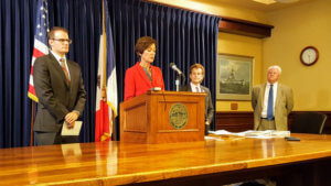 Gov. Kim Reynolds press conference